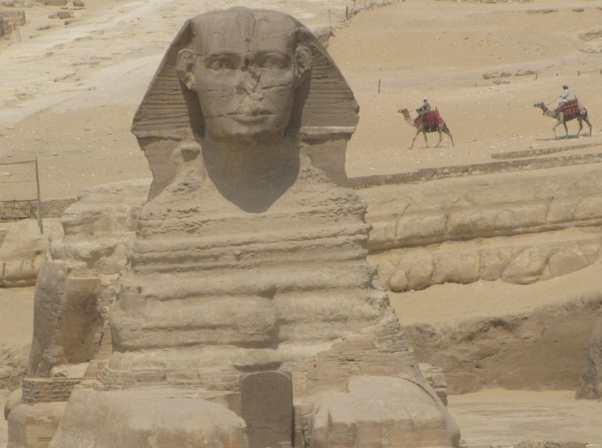 My favourite photo from Egypt, iconic in so many ways.